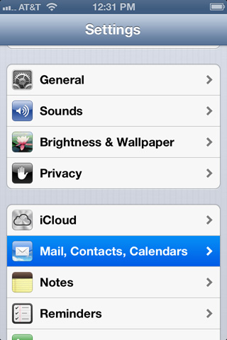How to update SMTP (Outgoing Server) settings on iPhone